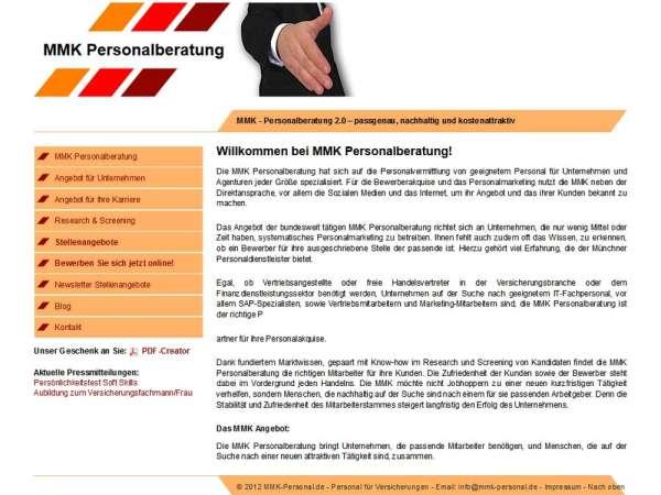 Details zu dieser Homepage anzeigen